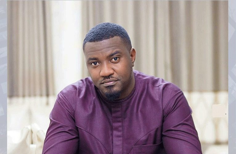 The Work Hard: John Dumelo Spotted In An Uncomfortable Situation During Eid To Do Donations