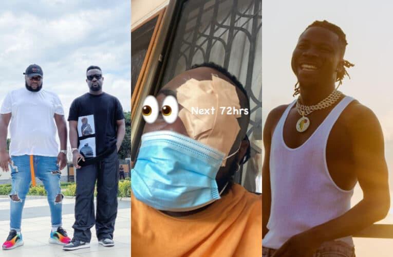 The Matter Chop Hot: Sarkodie Sacks Stonebwoy From His Black Love Virtual Concert