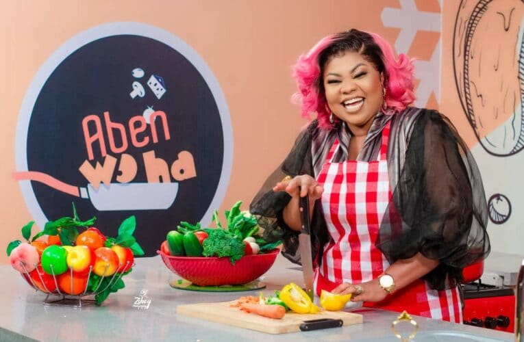 Gifty Adorye To Host Cooking Show On Onua TV