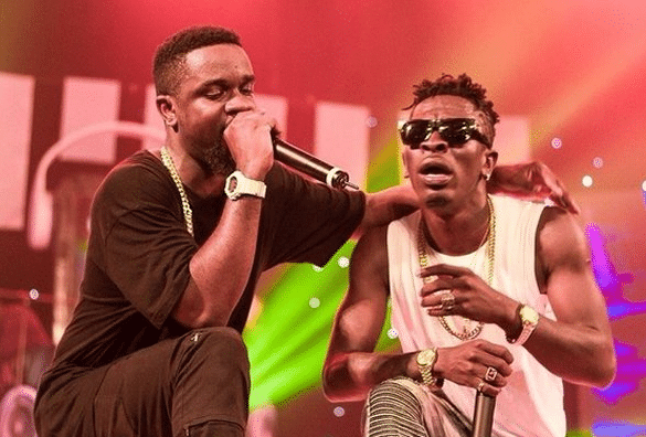 Watch How Sarkodie & Shatta Wale Made Peace During The Black Love Virtual Concert
