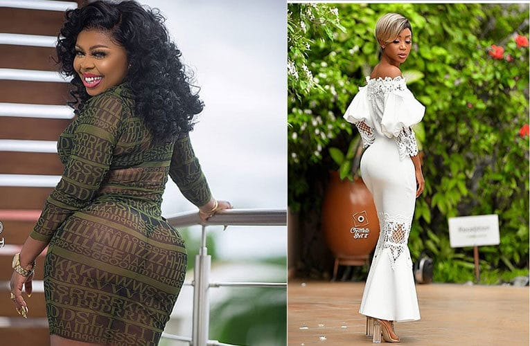 Afia Schwarzenegger repudiates allegations of Akuapem Poloo's scandal