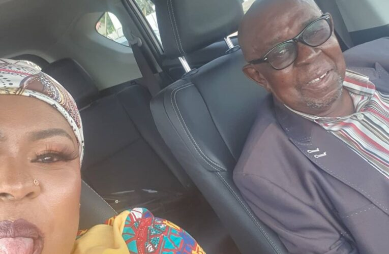 Afia Schwarzenegger Proves A Point; Flies Dad From Kumasi To Accra For Vacations