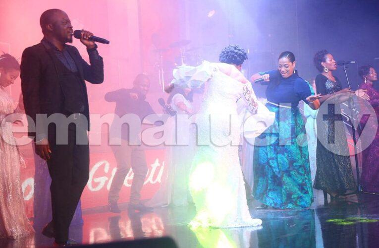 Nii Soul And Shasha Marley Perform At The Synagogue During Carols Night