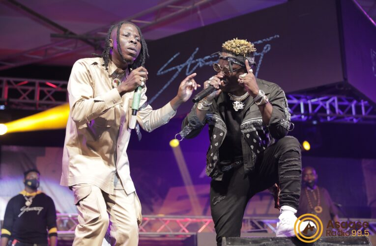 Screen Shots: Shatta Wale And Stonebwoy Seen For The First Time Promoting Each Other's Project